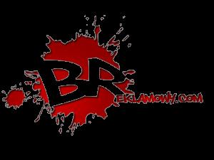 blok reklamowy logo